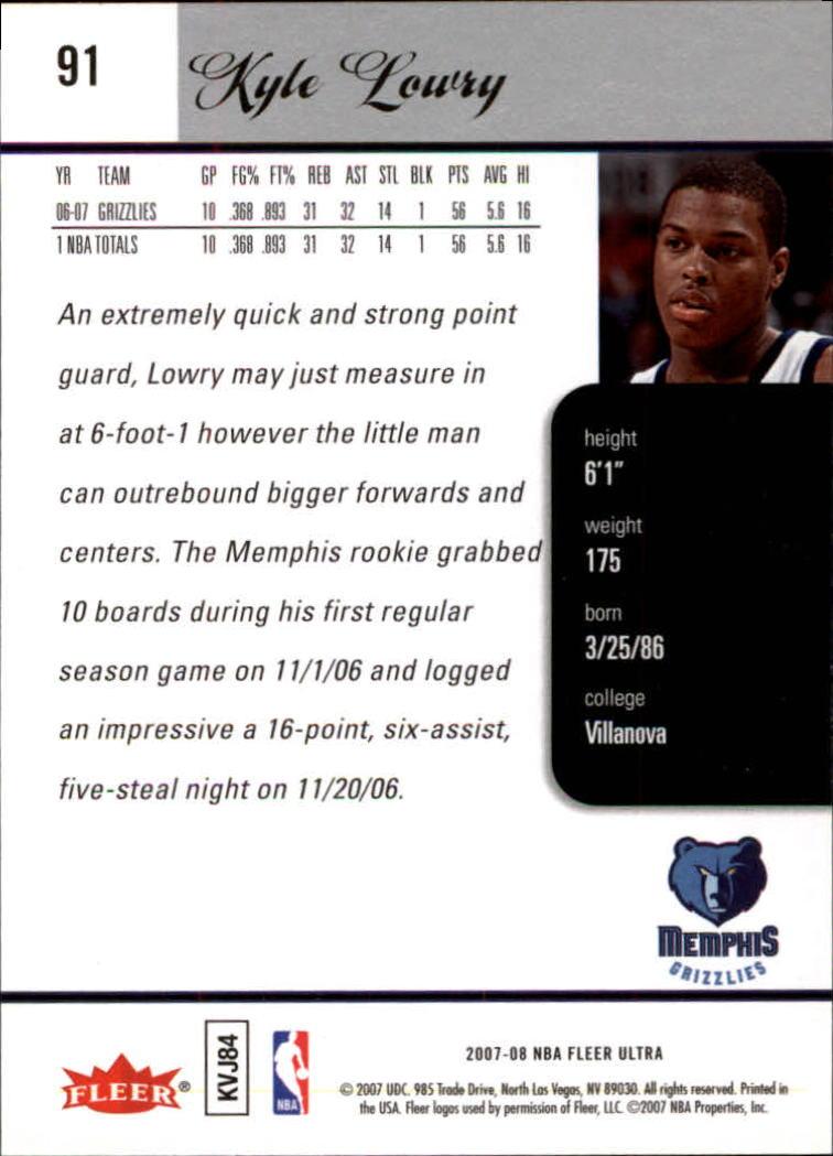 2007-08-Fleer-Ultra-SE-Basketball-Cards-Base-Set-Pick-From-List thumbnail 130