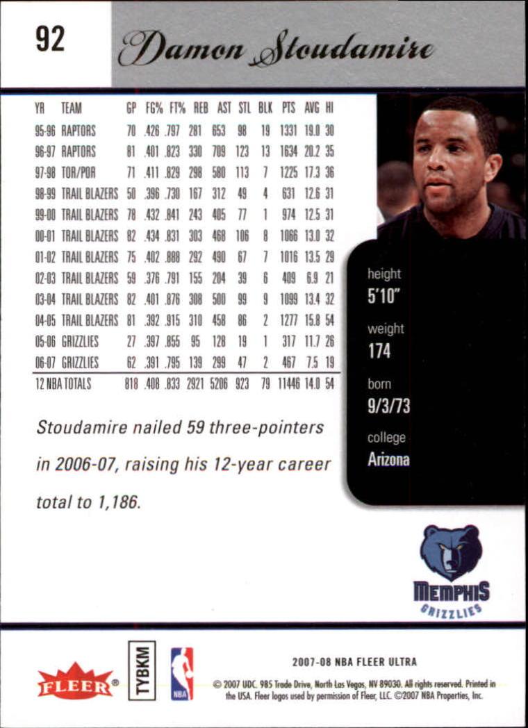 2007-08-Fleer-Ultra-SE-Basketball-Cards-Base-Set-Pick-From-List thumbnail 132