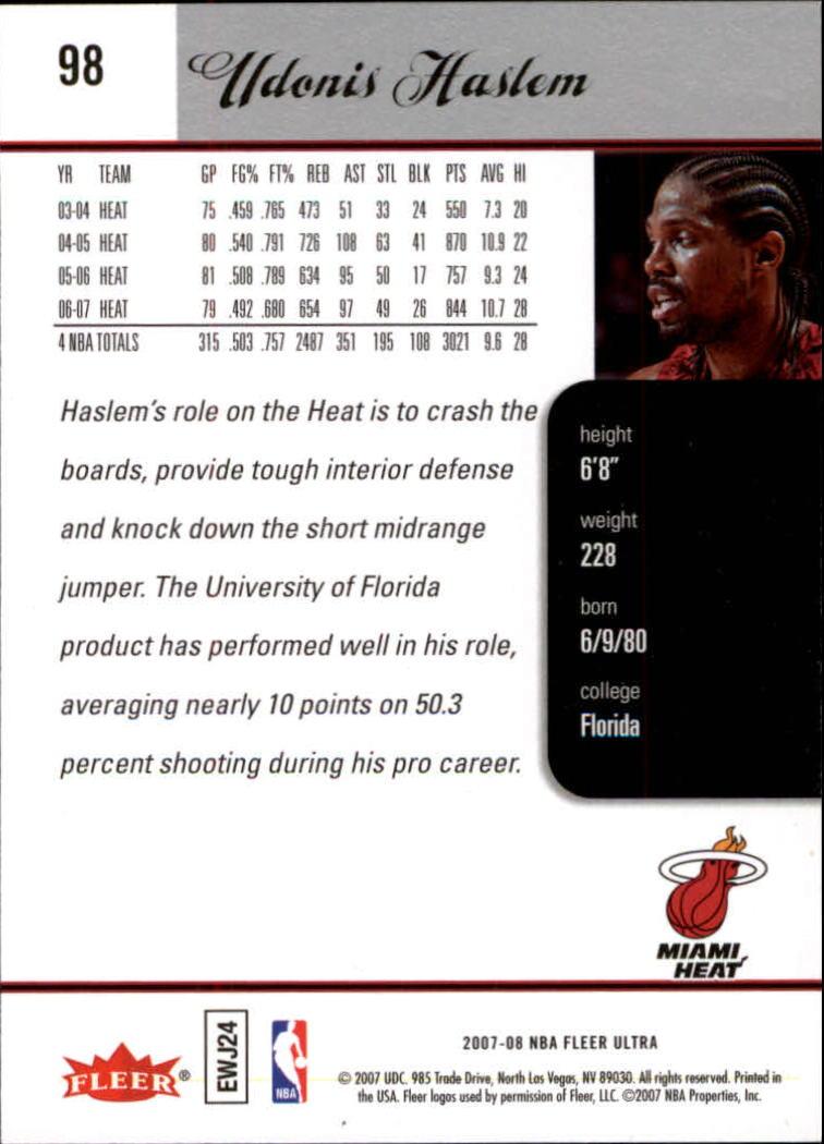 2007-08-Fleer-Ultra-SE-Basketball-Cards-Base-Set-Pick-From-List thumbnail 138