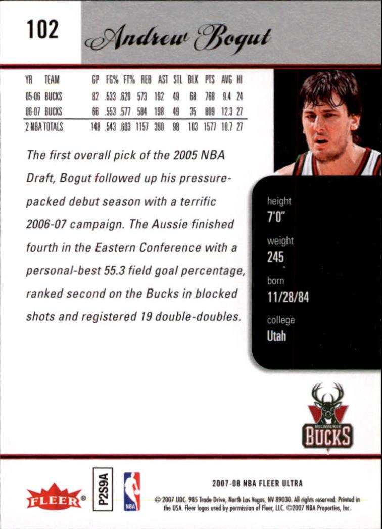2007-08-Fleer-Ultra-SE-Basketball-Cards-Base-Set-Pick-From-List thumbnail 146