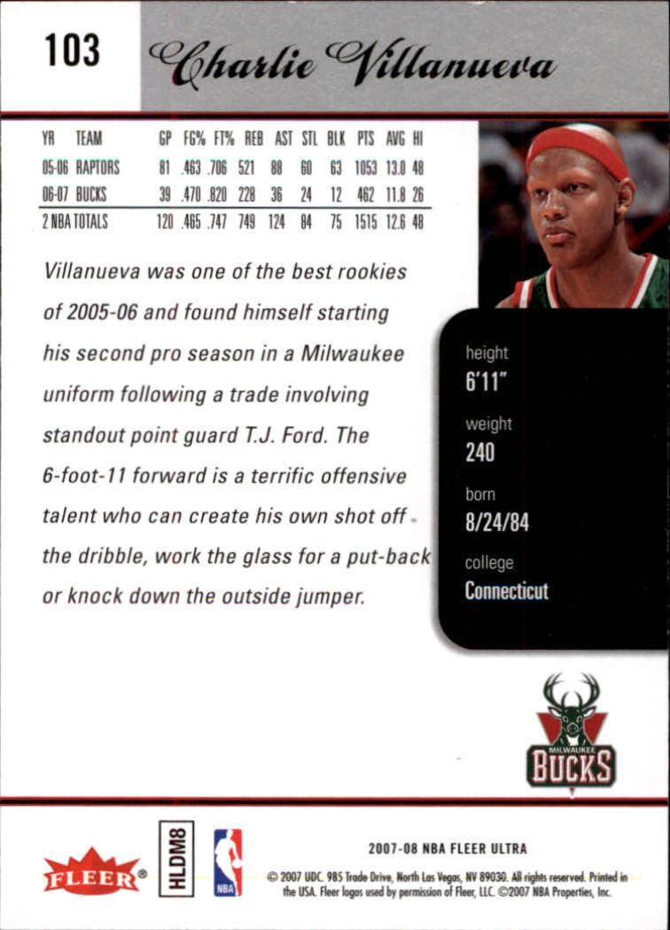 2007-08-Fleer-Ultra-SE-Basketball-Cards-Base-Set-Pick-From-List thumbnail 148