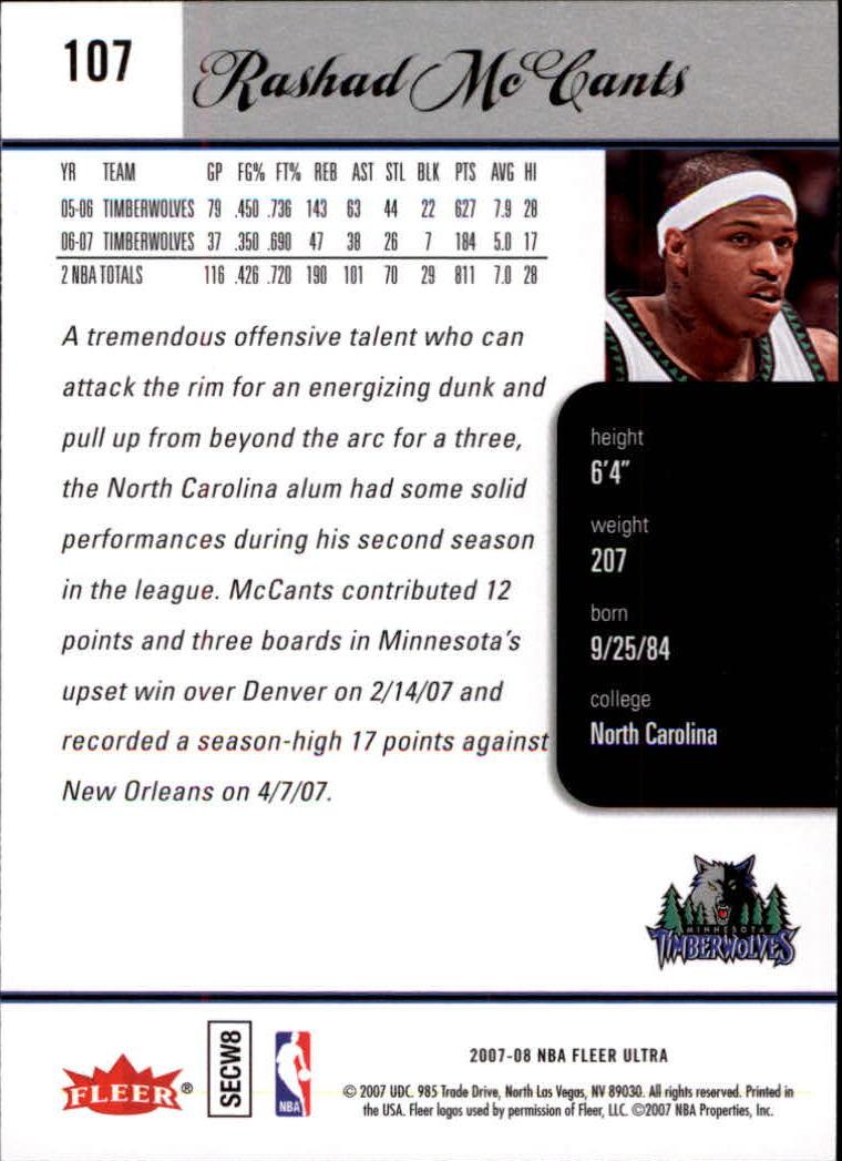 2007-08-Fleer-Ultra-SE-Basketball-Cards-Base-Set-Pick-From-List thumbnail 150