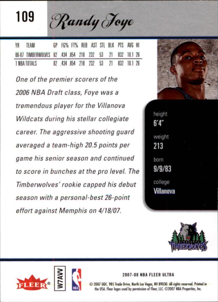 2007-08-Fleer-Ultra-SE-Basketball-Cards-Base-Set-Pick-From-List thumbnail 154