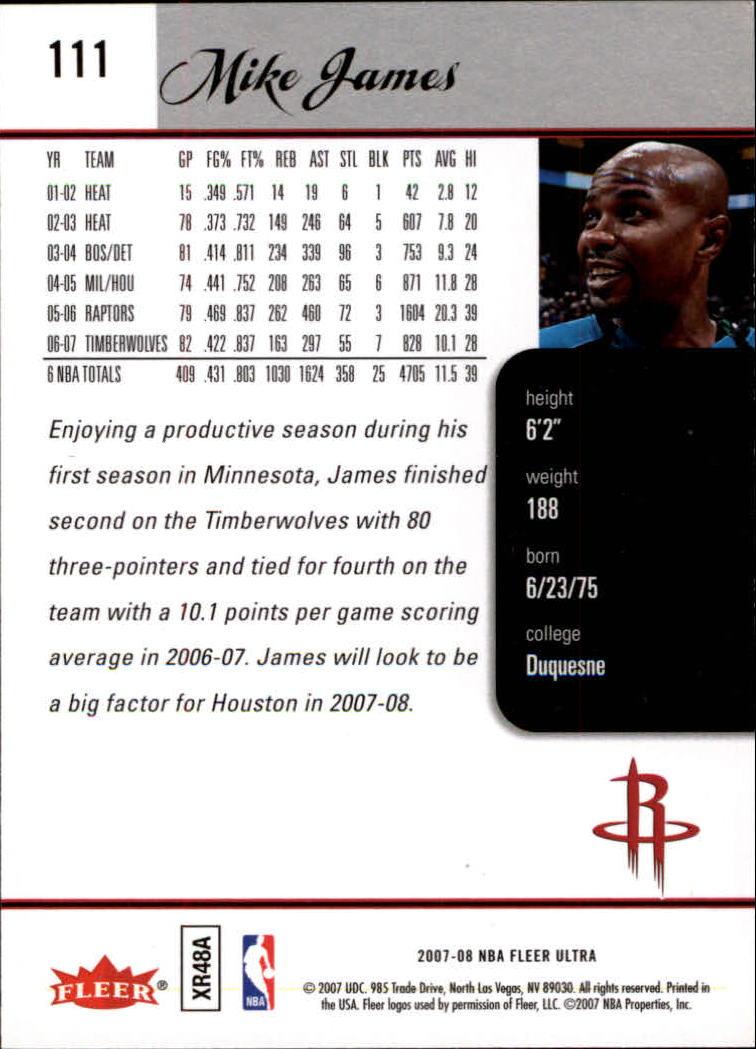 2007-08-Fleer-Ultra-SE-Basketball-Cards-Base-Set-Pick-From-List thumbnail 158