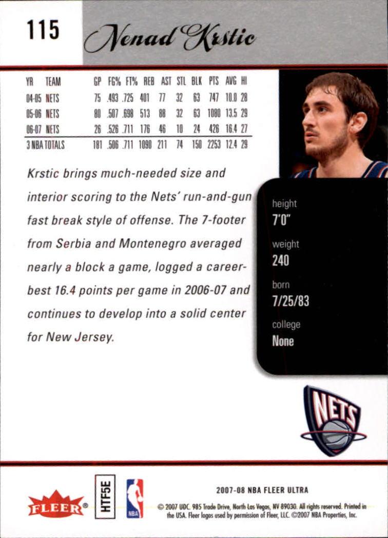 2007-08-Fleer-Ultra-SE-Basketball-Cards-Base-Set-Pick-From-List thumbnail 164