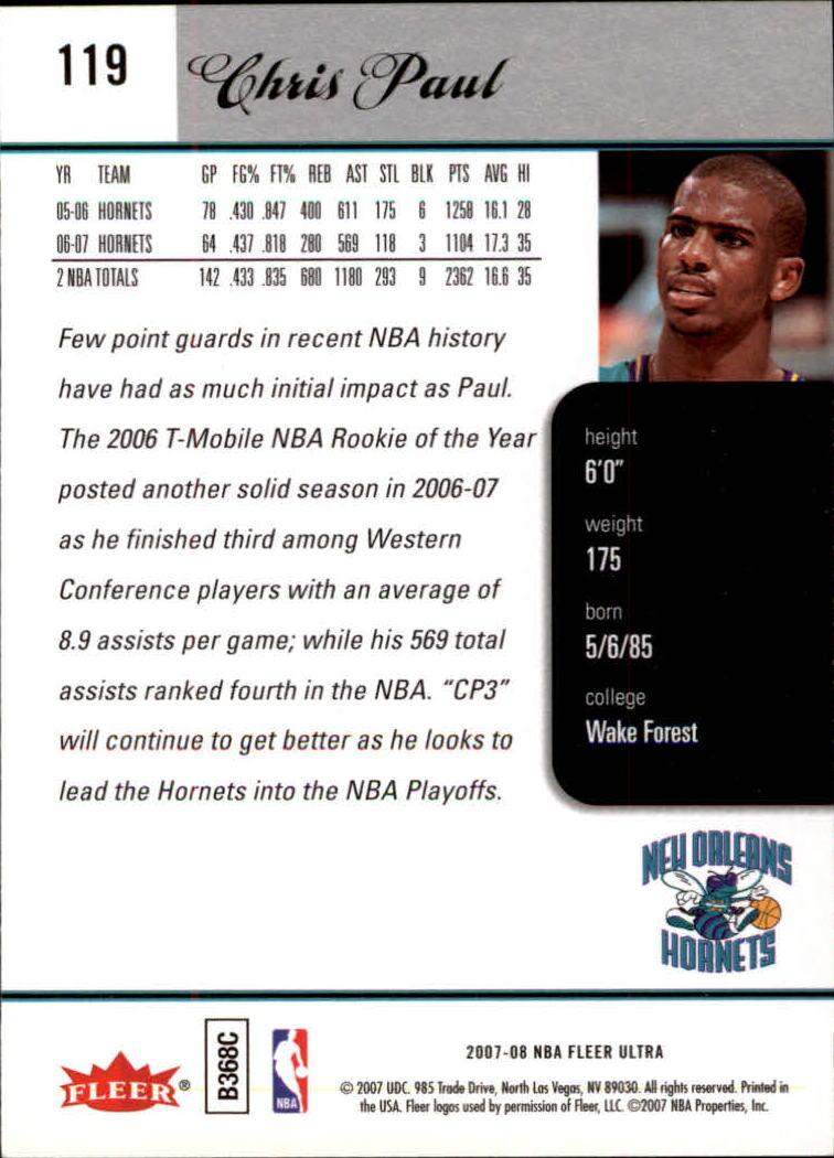 2007-08-Fleer-Ultra-SE-Basketball-Cards-Base-Set-Pick-From-List thumbnail 172