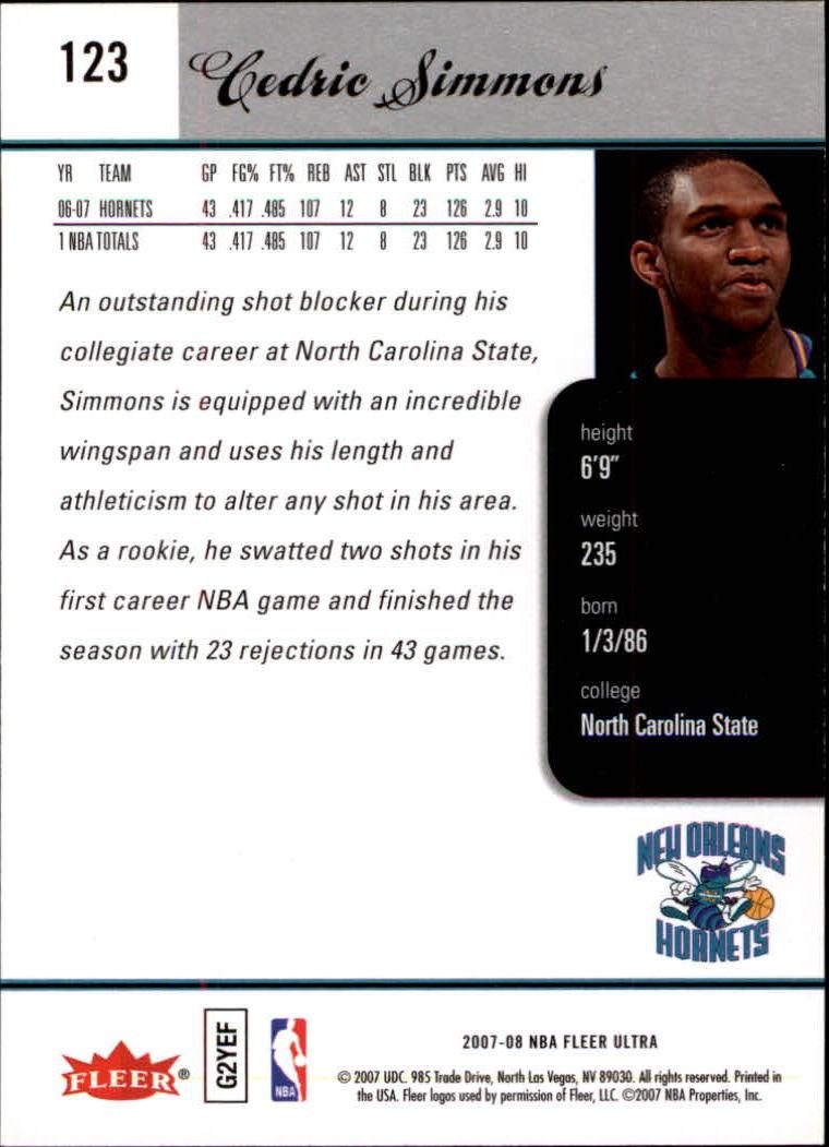 2007-08-Fleer-Ultra-SE-Basketball-Cards-Base-Set-Pick-From-List thumbnail 176