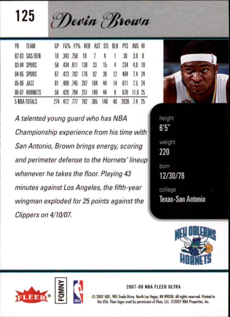 2007-08-Fleer-Ultra-SE-Basketball-Cards-Base-Set-Pick-From-List thumbnail 180