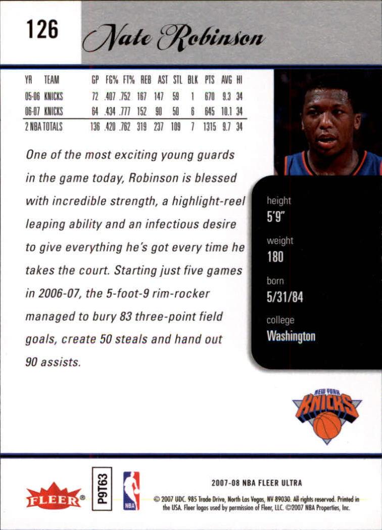2007-08-Fleer-Ultra-SE-Basketball-Cards-Base-Set-Pick-From-List thumbnail 182