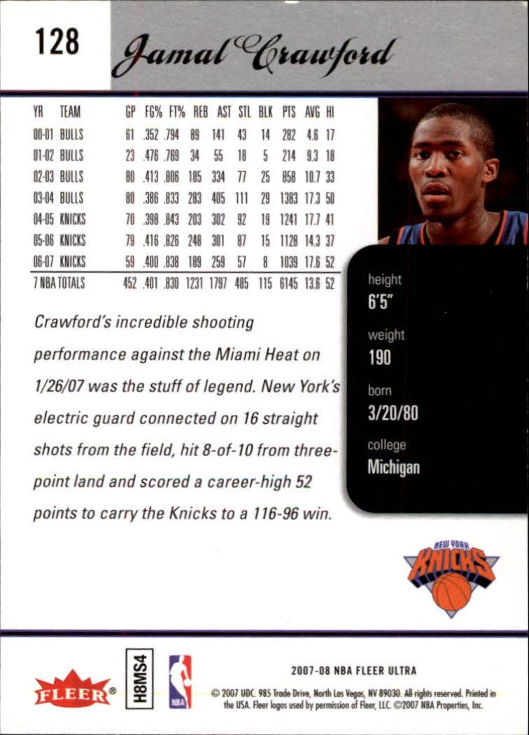 2007-08-Fleer-Ultra-SE-Basketball-Cards-Base-Set-Pick-From-List thumbnail 184