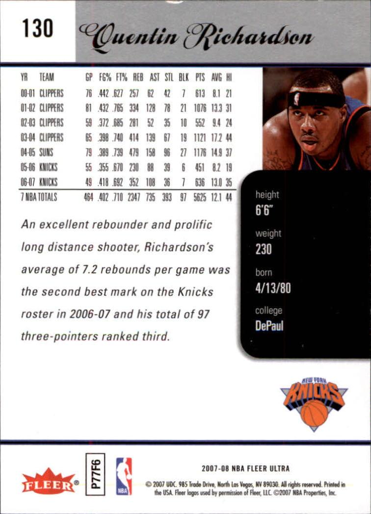 2007-08-Fleer-Ultra-SE-Basketball-Cards-Base-Set-Pick-From-List thumbnail 186