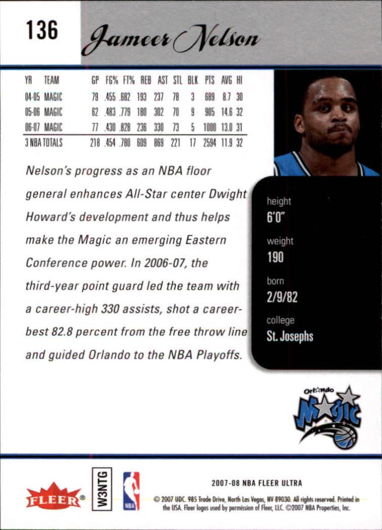 2007-08-Fleer-Ultra-SE-Basketball-Cards-Base-Set-Pick-From-List thumbnail 196