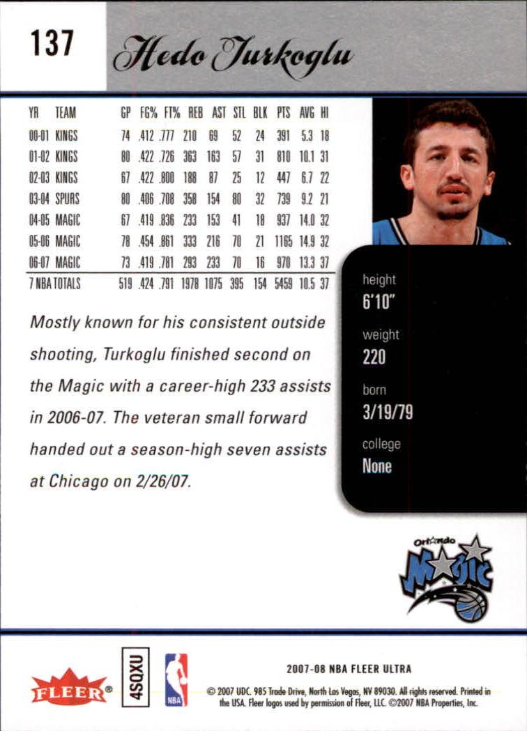 2007-08-Fleer-Ultra-SE-Basketball-Cards-Base-Set-Pick-From-List thumbnail 198