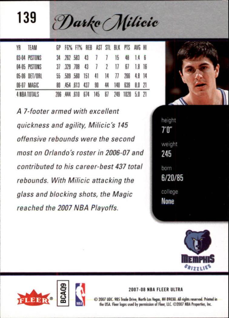 2007-08-Fleer-Ultra-SE-Basketball-Cards-Base-Set-Pick-From-List thumbnail 202