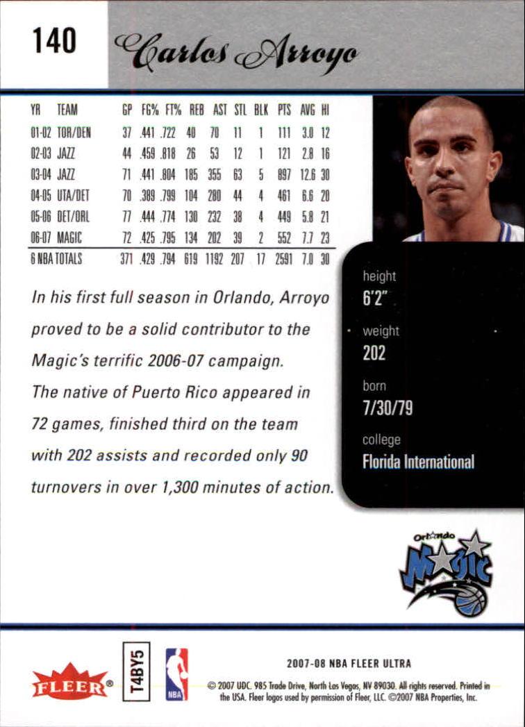 2007-08-Fleer-Ultra-SE-Basketball-Cards-Base-Set-Pick-From-List thumbnail 204