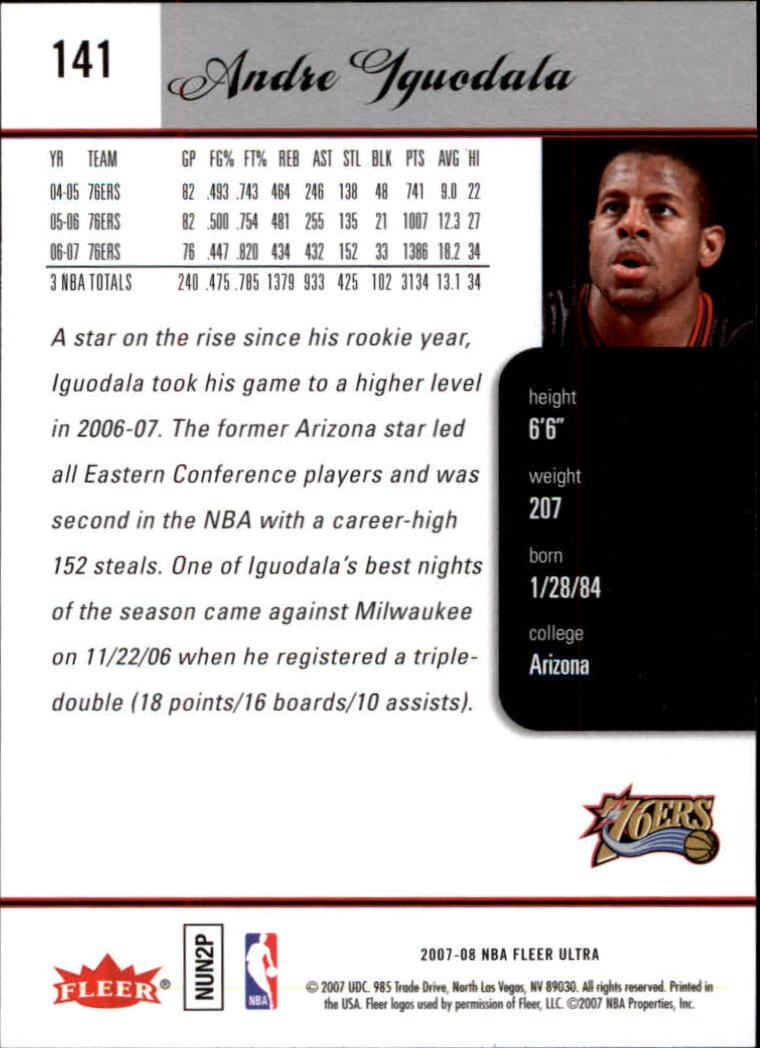 2007-08-Fleer-Ultra-SE-Basketball-Cards-Base-Set-Pick-From-List thumbnail 206