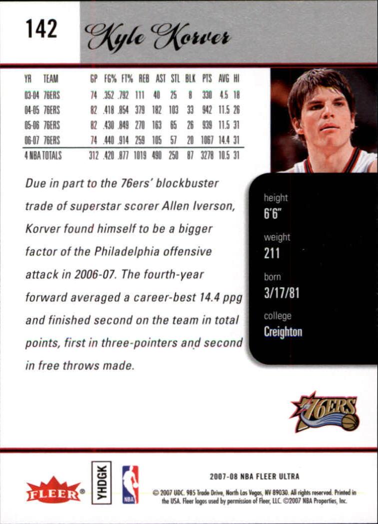2007-08-Fleer-Ultra-SE-Basketball-Cards-Base-Set-Pick-From-List thumbnail 208