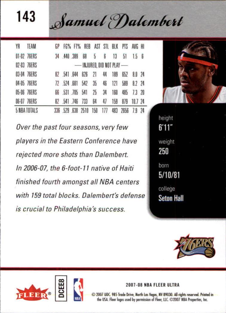2007-08-Fleer-Ultra-SE-Basketball-Cards-Base-Set-Pick-From-List thumbnail 210