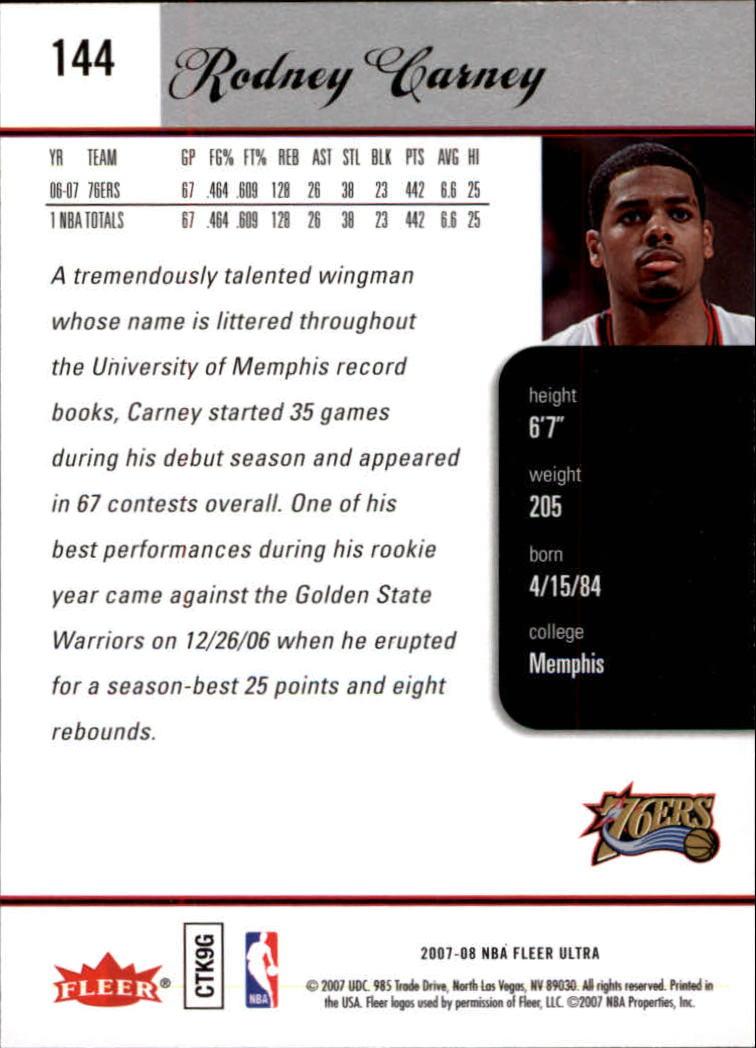 2007-08-Fleer-Ultra-SE-Basketball-Cards-Base-Set-Pick-From-List thumbnail 212