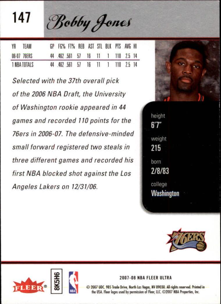 2007-08-Fleer-Ultra-SE-Basketball-Cards-Base-Set-Pick-From-List thumbnail 216