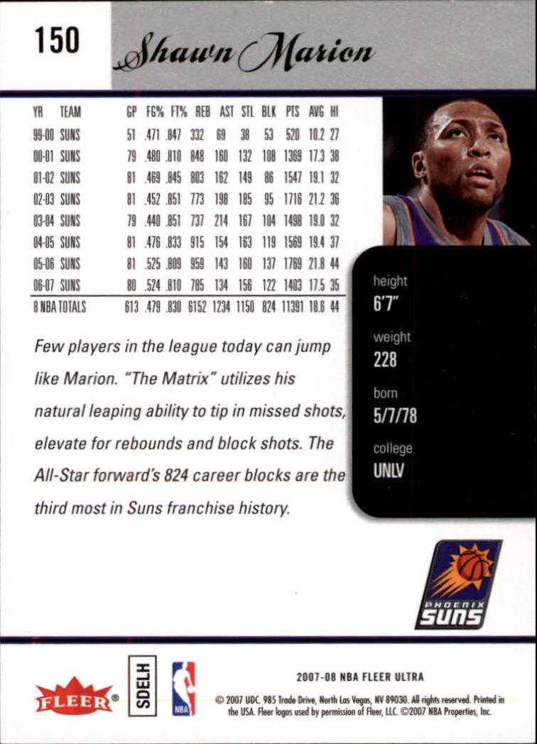 2007-08-Fleer-Ultra-SE-Basketball-Cards-Base-Set-Pick-From-List thumbnail 218