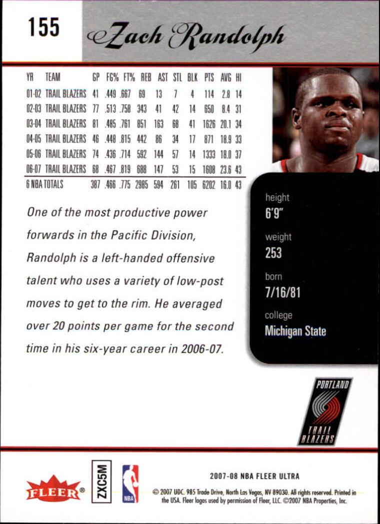 2007-08-Fleer-Ultra-SE-Basketball-Cards-Base-Set-Pick-From-List thumbnail 228