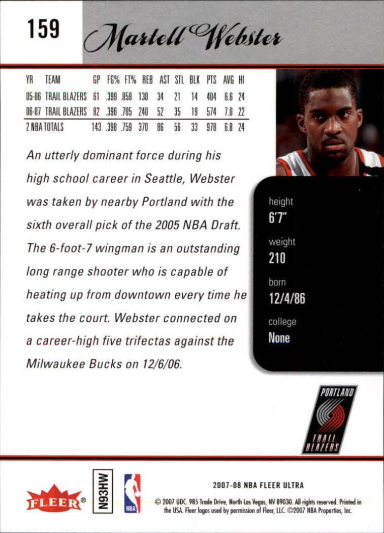 2007-08-Fleer-Ultra-SE-Basketball-Cards-Base-Set-Pick-From-List thumbnail 232