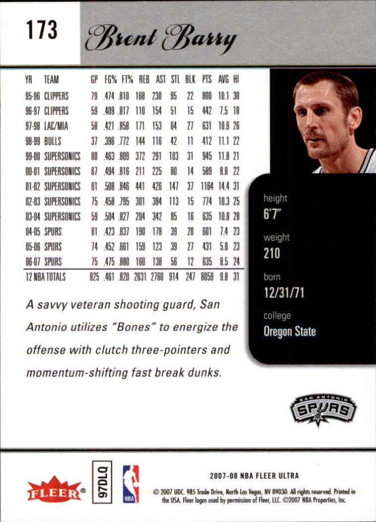2007-08-Fleer-Ultra-SE-Basketball-Cards-Base-Set-Pick-From-List thumbnail 254