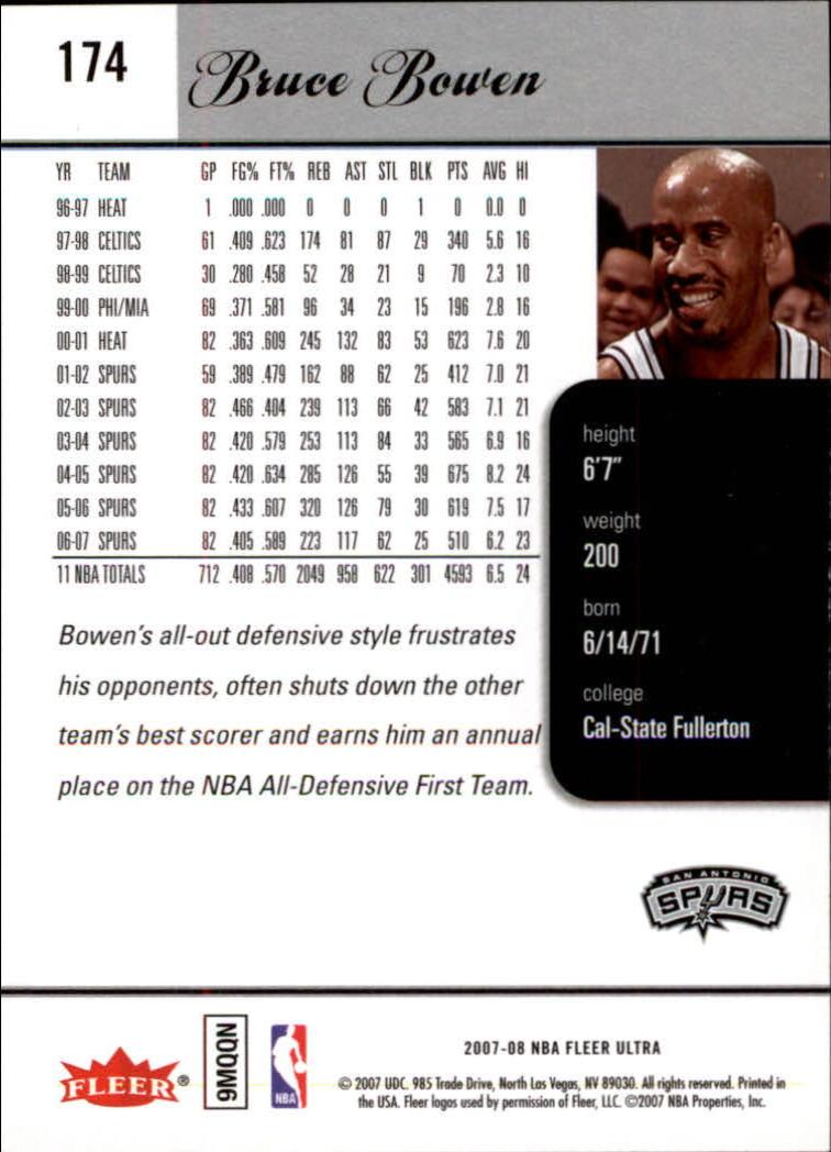2007-08-Fleer-Ultra-SE-Basketball-Cards-Base-Set-Pick-From-List thumbnail 256