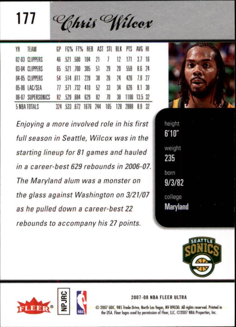 2007-08-Fleer-Ultra-SE-Basketball-Cards-Base-Set-Pick-From-List thumbnail 258