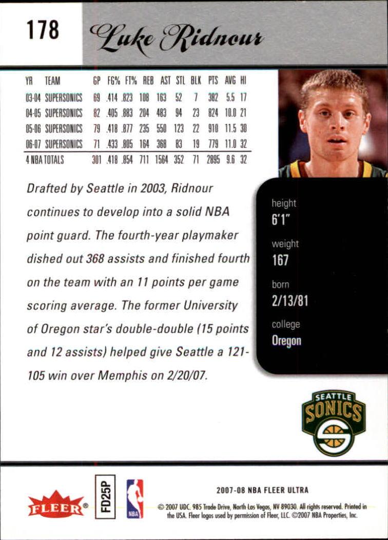 2007-08-Fleer-Ultra-SE-Basketball-Cards-Base-Set-Pick-From-List thumbnail 260
