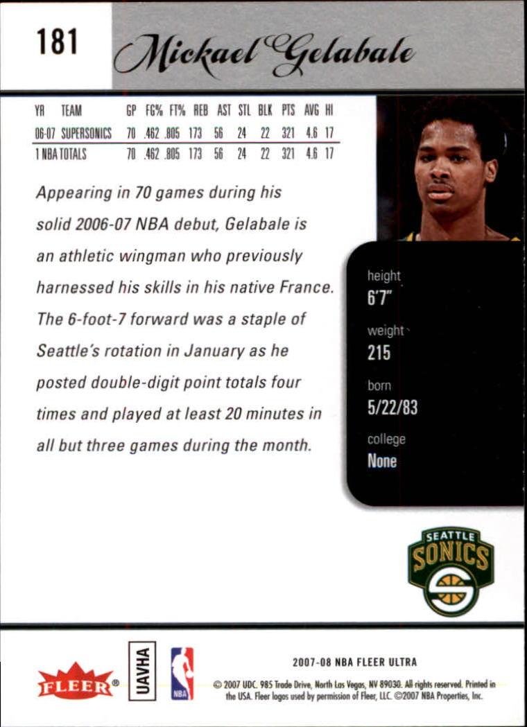 2007-08-Fleer-Ultra-SE-Basketball-Cards-Base-Set-Pick-From-List thumbnail 262
