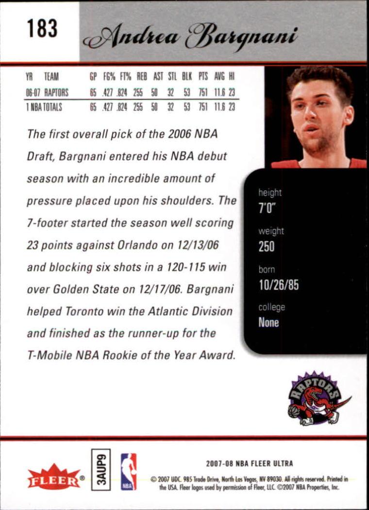2007-08-Fleer-Ultra-SE-Basketball-Cards-Base-Set-Pick-From-List thumbnail 266