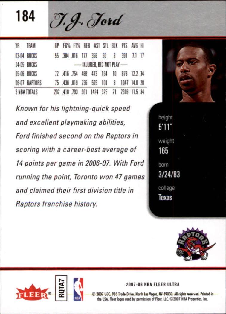 2007-08-Fleer-Ultra-SE-Basketball-Cards-Base-Set-Pick-From-List thumbnail 268