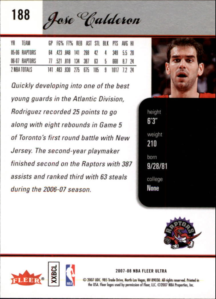 2007-08-Fleer-Ultra-SE-Basketball-Cards-Base-Set-Pick-From-List thumbnail 274