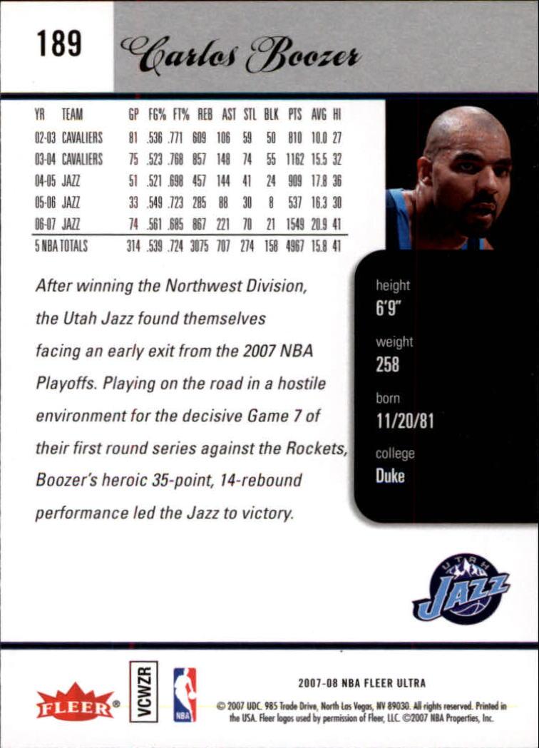 2007-08-Fleer-Ultra-SE-Basketball-Cards-Base-Set-Pick-From-List thumbnail 276