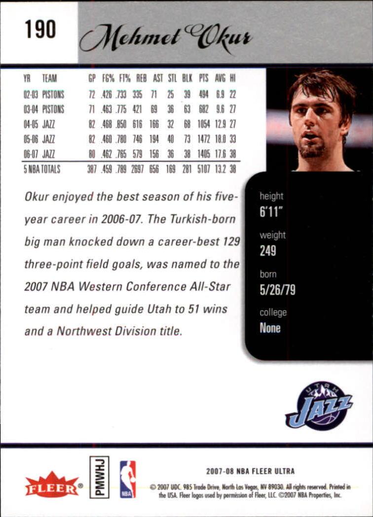 2007-08-Fleer-Ultra-SE-Basketball-Cards-Base-Set-Pick-From-List thumbnail 278