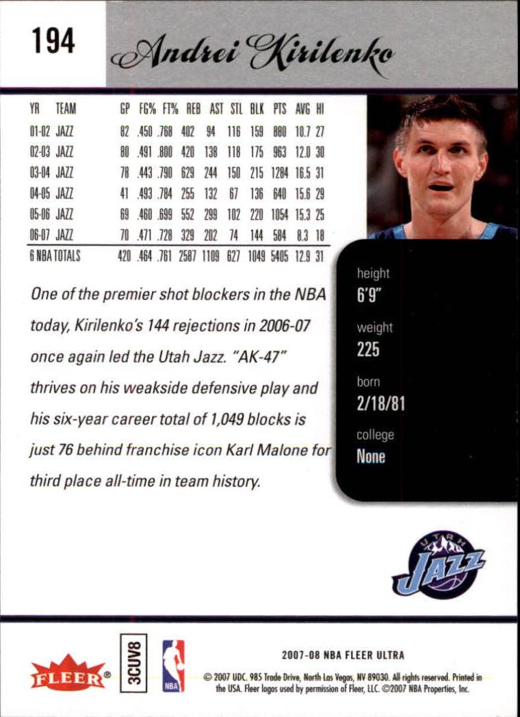 2007-08-Fleer-Ultra-SE-Basketball-Cards-Base-Set-Pick-From-List thumbnail 284