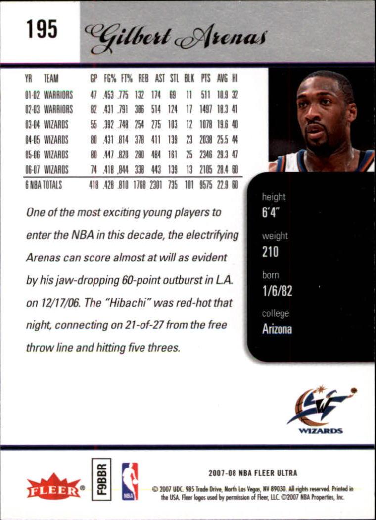 2007-08-Fleer-Ultra-SE-Basketball-Cards-Base-Set-Pick-From-List thumbnail 286