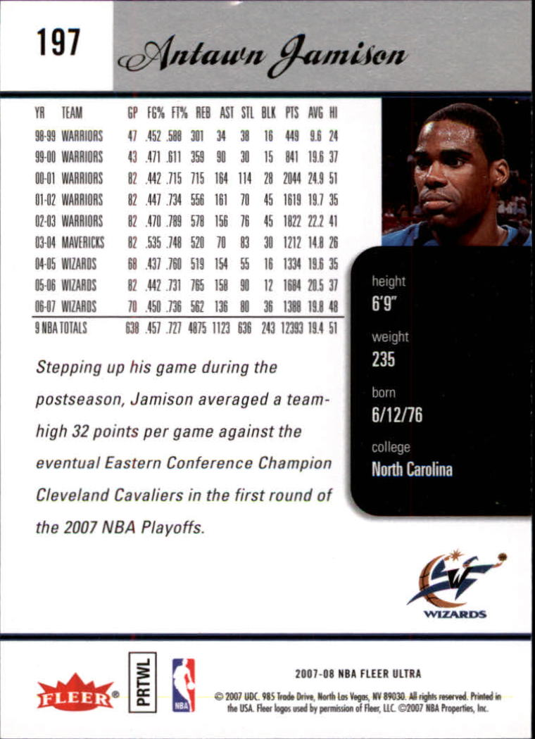 2007-08-Fleer-Ultra-SE-Basketball-Cards-Base-Set-Pick-From-List thumbnail 290