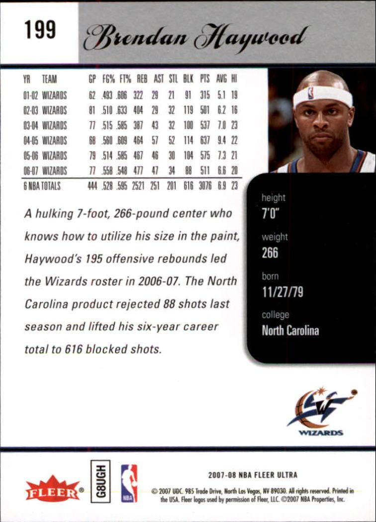 2007-08-Fleer-Ultra-SE-Basketball-Cards-Base-Set-Pick-From-List thumbnail 294