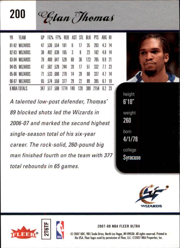 2007-08-Fleer-Ultra-SE-Basketball-Cards-Base-Set-Pick-From-List thumbnail 296