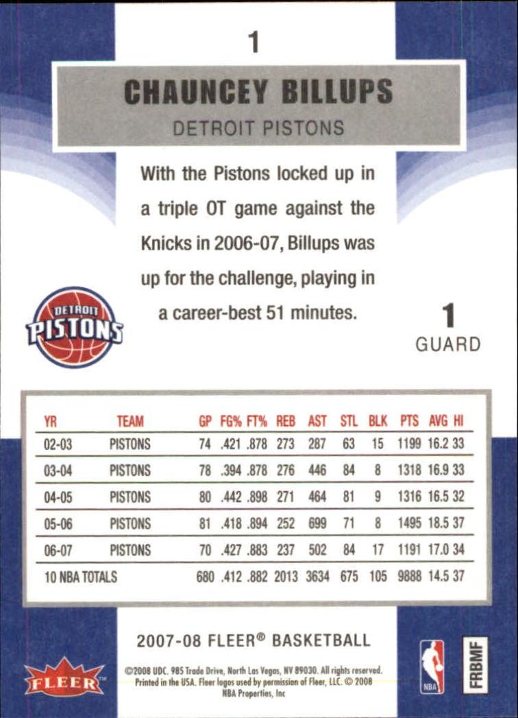 2007-08-Fleer-Basketball-Cards-Base-Set-Pick-From-List thumbnail 3