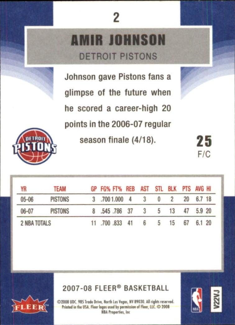 2007-08-Fleer-Basketball-Cards-Base-Set-Pick-From-List thumbnail 5
