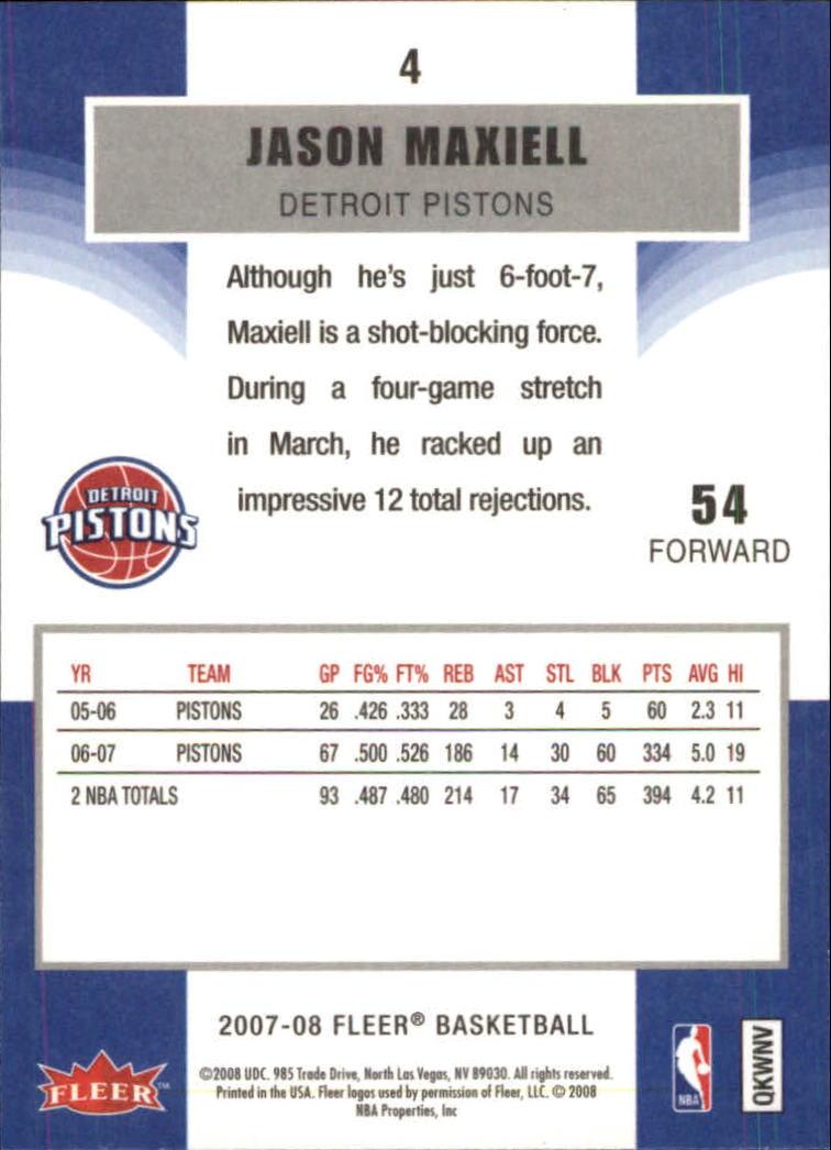 2007-08-Fleer-Basketball-Cards-Base-Set-Pick-From-List thumbnail 9