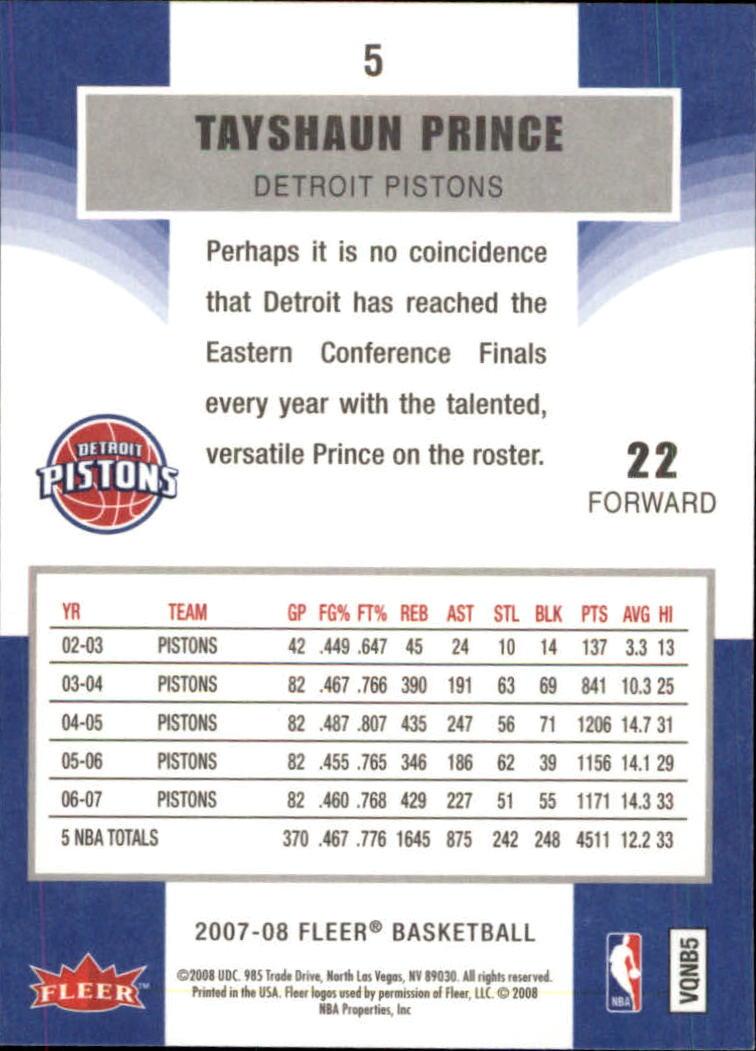 2007-08-Fleer-Basketball-Cards-Base-Set-Pick-From-List thumbnail 11