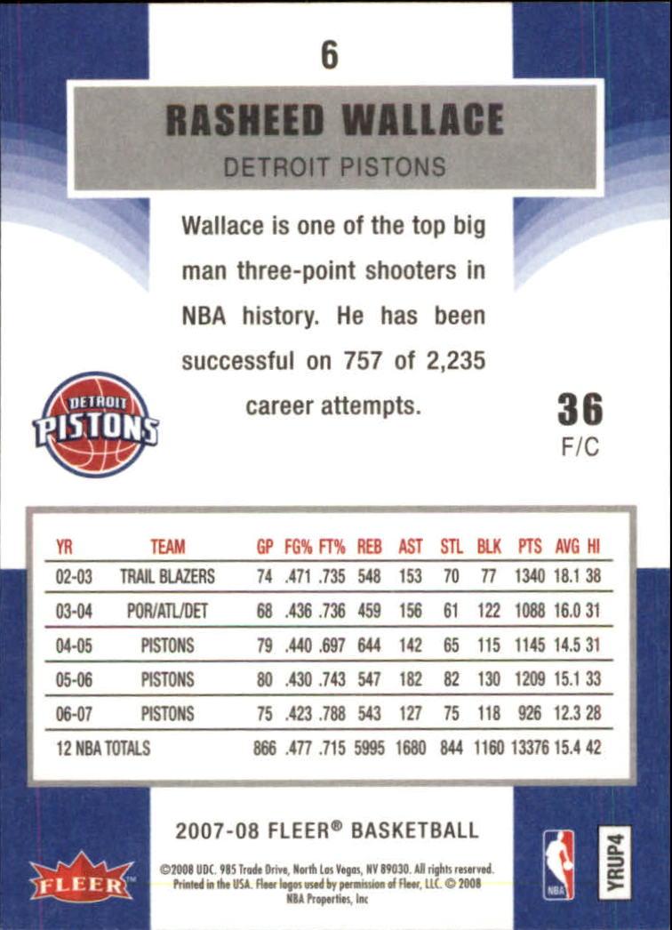 2007-08-Fleer-Basketball-Cards-Base-Set-Pick-From-List thumbnail 13