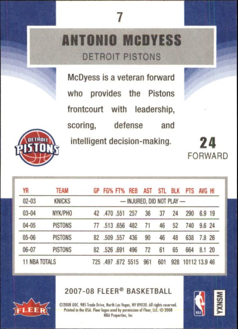 2007-08-Fleer-Basketball-Cards-Base-Set-Pick-From-List thumbnail 15