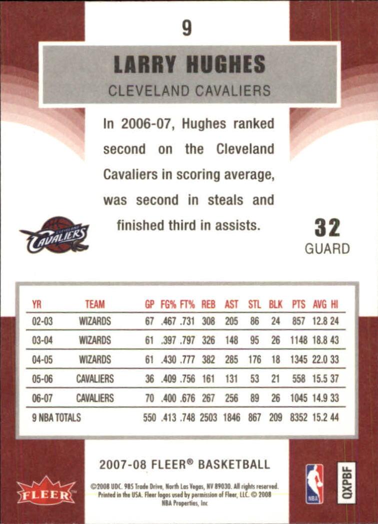 2007-08-Fleer-Basketball-Cards-Base-Set-Pick-From-List thumbnail 19