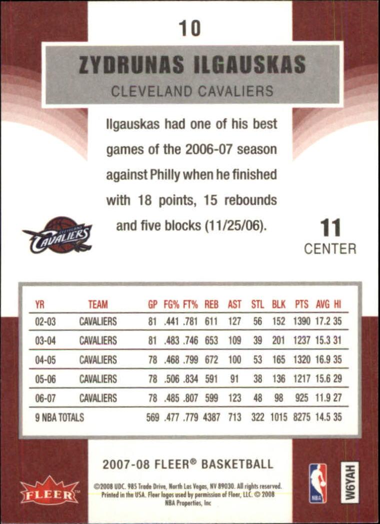 2007-08-Fleer-Basketball-Cards-Base-Set-Pick-From-List thumbnail 21